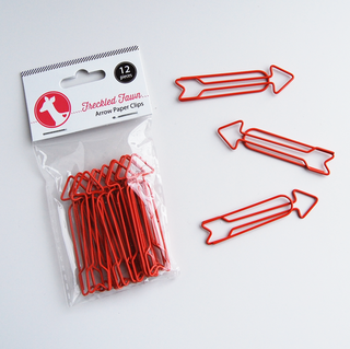 ff Arrow Paper Clip - Red