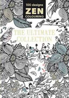 100 designs Zen colouring - The Ultimate Collection