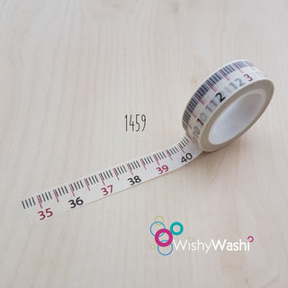 2269 - Measuring Tape Washi Tape