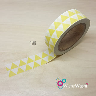 2300 Yellow Triangle Washi