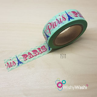 1511 - Paris Washi Tape