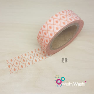 2120 - Apricot Lattice Washi Tape