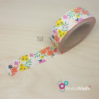 1520 - Orange, Pink and Yellow Washi Tape