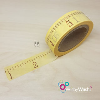 2117- Ruler Washi Tape