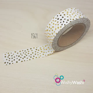 1561 - Gold Speckle Washi Tape