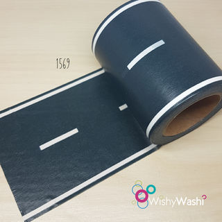 1569 - Road Washi Tape