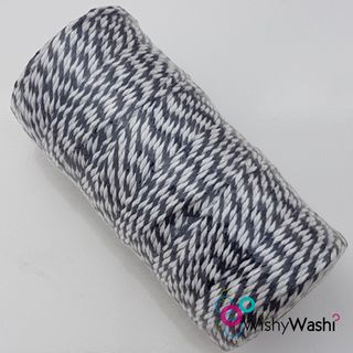 Navy Blue & White Bakers Twine