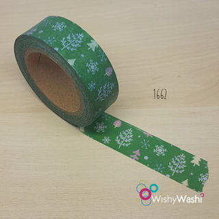 1662 - Christmas Trees Washi Tape