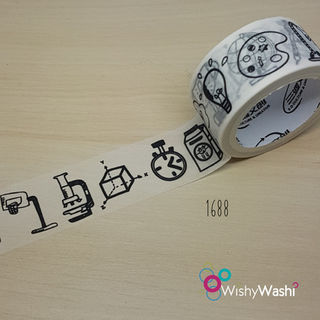 1688 - School Washi Tape