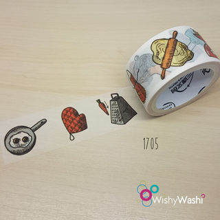 1705 - Kitchen Washi Tape