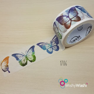 1706 - Butterfly Washi Tape