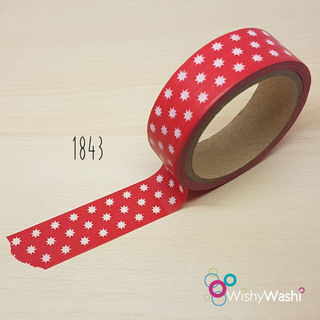 2207 - Red with white star