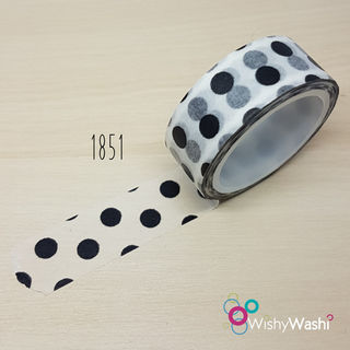 1851 - White with Black Spot