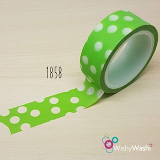 1858 - Green with White Spot