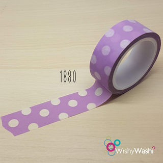 2210 - Purple with White Spot