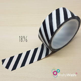 1896 - Black and White Stripe