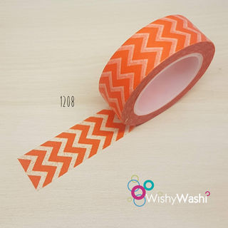 2335 - Orange Chevron