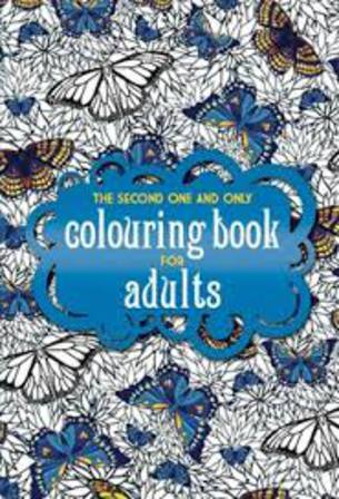 Second One & Only colouring book for Adults