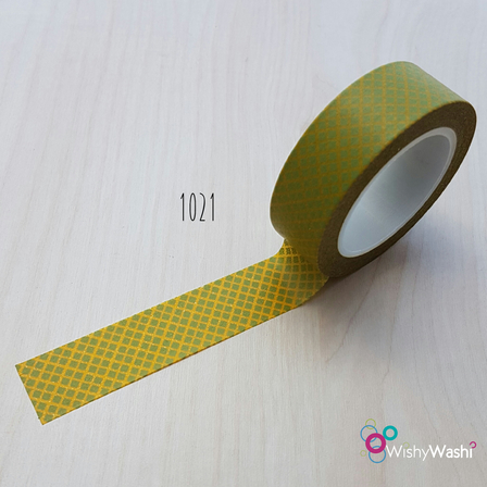 1021 - Yellow and Green Grid
