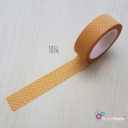 1036 - Orange with Little White Spots