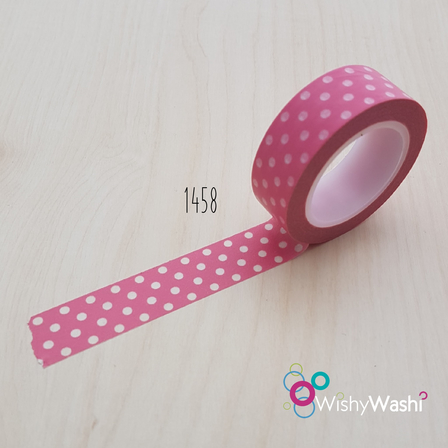 1458 - Pink and White Spots