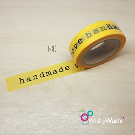 1480 - Handmade With Love Washi Tape