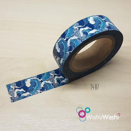 1487 - Wave Washi Tape
