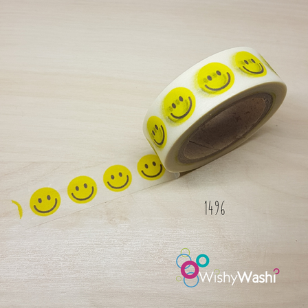 1496 - Smiley Face Washi Tape