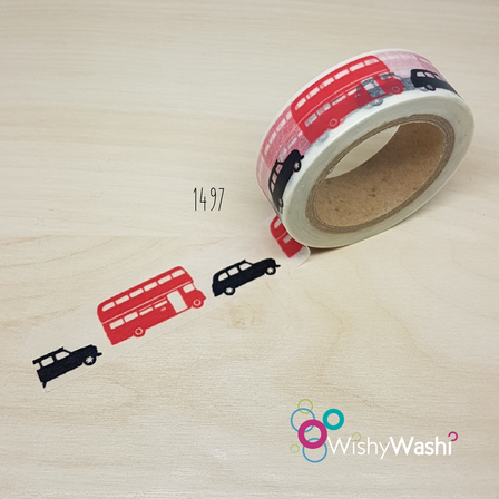 1497 - London Transport Washi Tape
