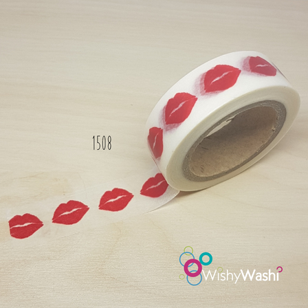 1508 - Lip Washi Tape