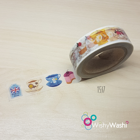1537 - Teacup Washi Tape