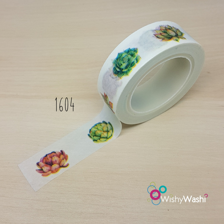 1604 - Succulent Washi Tape