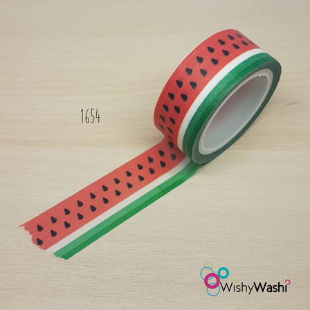 1654 - Watermelon Washi Tape