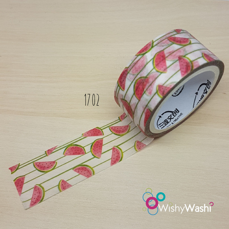 1702 - Watermelon with Stripe