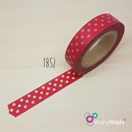 1852 - Red with White Spot