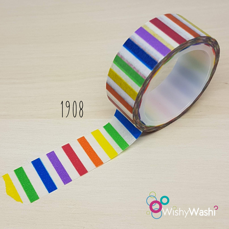 1908 - Rainbow Stripe