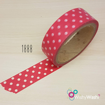 1888 - Red with White Spot