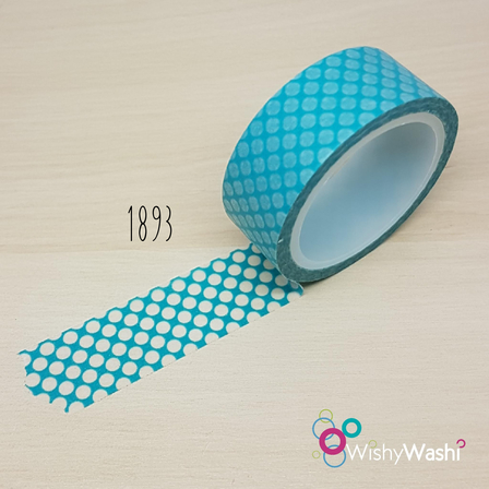 2234 - Turquoise with White Spots